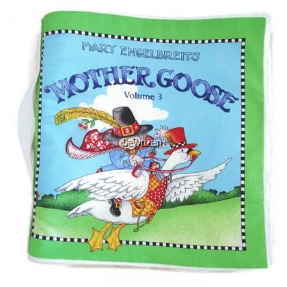 Fabric Baby Book (Mother Goose V3) - Buku Cerita Fabrik Anak Kecil