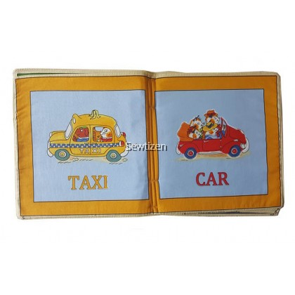 Busytown Baby Book by Richard Scarry (Soft Book)