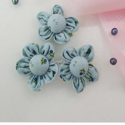 5 pcs Small Fabric Flower