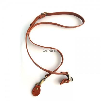 Genuine Leather Single Shoulder Bag Handle (Tan color)