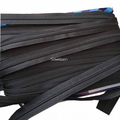 Long Zipper Zip Potong / Zip Panjang Size 3 With Zipper Head