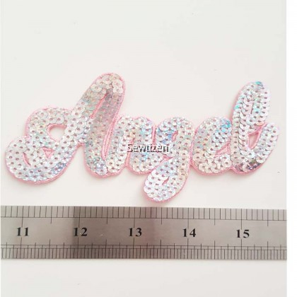 EMBROIDERY APPLIQUE- ANGEL