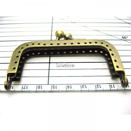 METAL PURSE FRAME 75mm